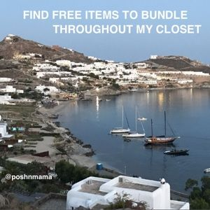 FIND FREE ITEMS TO BUNDLE